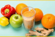 Healthy Drinks & Smoothies / Healthy drinks and smoothies including recipes for infused waters, teas, lemonades, and sangrias.