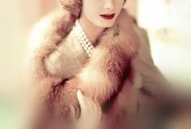 Vintage Elegance / Elegant vintage fashion and styling by chic models, classic pinups and movie mavens from yesteryear.