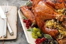 Holiday Party: Thanksgiving / Thanksgiving party planning inspiration including, food recipes and décor ideas.