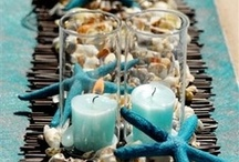 Wedding/Party: Beach / Inspired primarily by the colors of the sea, these summer beach weddings are perfect for destination weddings in coastal and/or exotic tropical destinations. / by *:・゚✧ Mimi G ✧゚・:*