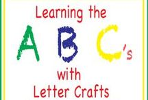 ABC's / ABC activities for early learners. / by Leigh Ann @ Intentional By Grace