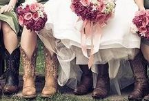 Wedding/Party: Rustic Country / Care free summer afternoons on grandpa's farm is the inspiration behind this great American country theme which features accents of weathered wood, rope, leather, antique lace, cotton, burlap, sunflowers in mason jars, dining off of grandma's antique wedding china, and of course wearing western boots to popular venues such as farmhouses and old barns nestled among sleepy fields of golden wheat.