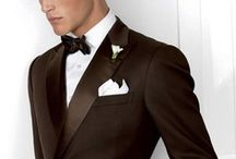 """Groom & Groomsmen / From black ties to jeans and every style in between. Fashion, gift ideas and party inspiration for the groom and his groomsmen on """"The Big Day""""."""