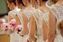 Bridesmaid Dresses & Shoes / Bridesmaids dresses in various colors, themes and styles as well as shoes and accessories.