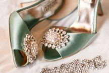 Bridal Shoes & Accessories / Bridal accessory inspiration for that ol' something old, something new, something borrowed and something blue including shoes, jewelry, gloves, veils, tiaras, headbands, hair clips, fascinators, belts, corsets, garters and even lingerie to complete the look of your dreams for that special wedding day and night. (Please follow my Formal Hairstyles pin board for more bridal hair inspiration.)