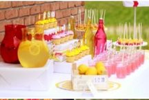Lemonade Stand / Inspiration for organizing a classic lemonade stand for charity, kid's party or just for fun!