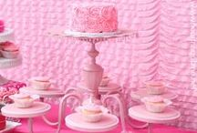 Cake & Dessert Stands / Product resource links as well as DIY inspiration for creating various stands to display cakes and desserts for themed events.