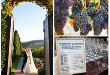 Wedding/Party: Wine County / Romantic vineyards bathed in warm sunsets are the inspiration for this theme. Whether your venue is entirely outdoors or among elegant wineries, tasting rooms, or wine caves here you will find décor influences from top wine producers from Napa and Sonoma Valley in California to the rich Tuscan flares of Italy to the refined and elegant style of France to help complete the perfect wine country wedding or themed party.