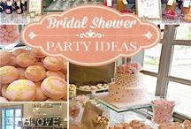 Party Planning: Bridal Showers  / Party planning inspiration and gift ideas for various themed bridal showers.