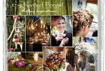 """Wedding/Party: Fairytale/Enchanted Forest / Glowing firefly """"fairy's"""" dancing with woodland creatures deep within mossy, dusk lit forests among vibrant jeweled-toned flowers and curious toadstools is the inspiration behind this enchanted forest theme straight out of Wonderland and children's fairy tales books."""