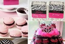 Wedding/Party: Animal Prints / Party planning inspiration of various colors featuring exotic animal prints that including stripes from sassy zebras and titillating tigers to lovely leopards and jazzy giraffes spots for a girly-girl themed party with an all ages appeal.