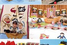 Kid's Party: Pirates / Party planning inspiration for a pirate themed party including, décor, favors, games and food ideas.