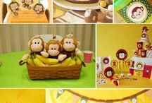 Kid's Party: Zoo & Safari / Party planning inspiration for a zoo or safari themed party including, décor, favors, games and food ideas.
