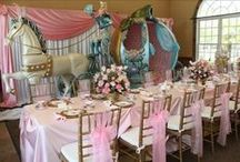 Kid's Party: Princess / Party planning inspiration for various princess parties, including Disney Princesses themed, décor, favors, games and food ideas.