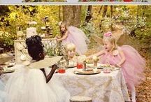 Kid's Party: Fairies & Pixies / Party planning inspiration for a fairy or pixie party, including Tinkerbell themed, décor, favors, games and food ideas.