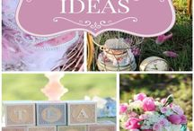Kid's Party: Tea Party / Party planning inspiration for various tea parties, including Alice in Wonderland themed, décor, favors, games and food ideas.