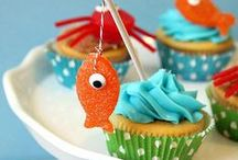 Kid's Party: Beach/Pool/Luau / Party planning inspiration for a beach or pool themed party including, décor, favors, games and food ideas.