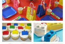 Kid's Party: Lego / Party planning inspiration for a Lego themed party including, décor, favors, games and food ideas.