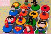 Kid's Party: Superheroes / Party planning inspiration for various superheros themed party including, décor, favors, games and food ideas.