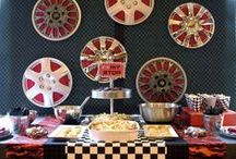 Kid's Party: Race Cars / Party planning inspiration for various race car and derby inspired parties, including Disney's Cars themed, décor, favors, games and food ideas.