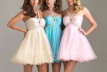 Party/Prom Dresses / From classy to flirty; party dresses for prom, home-comings and birthdays. (Note: Some of these are old pics uploaded from my computer, so original download links are NOT always available.)