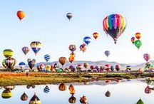 Balloons / All about Hot Air Balloons / by David Haines