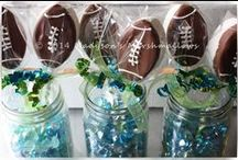 Superbowl Party Favors / by Madyson's Gourmet Marshmallows