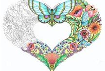 Adult Coloring Pages / by Colleen Rose