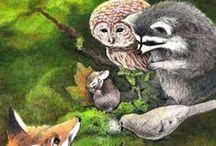 Steve Asbell Illustrations / Illustrations of plants and animals by me, Steve Asbell. I do children's illustrations and botanical illustrations.