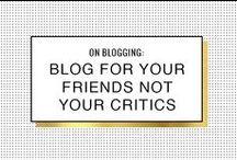 Blogging / Tips for #blogging better