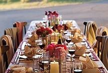 Table Arrangements  / by Ashley O'Rourke
