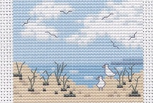 Cross Stitch - Summer and Vacation