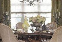 dinner rooms / by Sue Paul