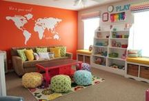 Play Rooms / Fun ideas for your children's play room!