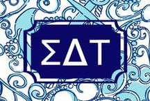 We Are Golden! {Ʃ△T} / ...Or cafe au lait; whichever you prefer... ♡ Sigma Delta Tau ♡ / by Alejandra Romero