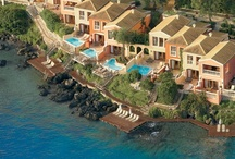 Corfu Imperial, Kommeno-Corfu island / What if paradise was yours to own?Palazzos offer the ultimate in luxury accommodation.These sensual palaces conjure a feeling of floating above the Ioanian Sea.Waterfront palaces on the serene Ionian Sea.Palazzos,Royal Pavilions,Dream Villas,Bungalow Suites exude the mood and comfort of a seaside country home.A collection of distinctive categories simplify holiday planning:beachfront, private pools&swimming decks,panoramic penthouse etc.New Palazzo Imperiale,the most glamorous villa in Greece!