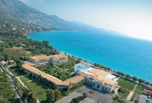 Filoxenia hotel, Kalamata-Peloponnese / Filoxenia luxury beach spa hotel in southern Peloponnese is the pride of Kalamata. Under the shadow of Mount Taygetos and bordering the Messinian Gulf with its crystal clear waters the hotel is simple yet refined.  Amongst the lavish gardens and the blue waters of the Messinian gulf, the 188 luxury guestrooms & suites with outstanding panoramic view, bespeak a quiet, timeless elegance.