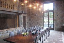 dining rooms / by Karen Hauser