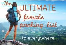 Travel Packing / How to Pack for Traveling RTW