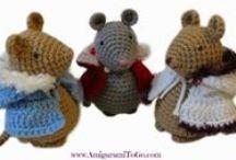Crochet Dolls - Animals