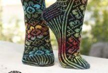 Knitting socks / Patterns & inspiration