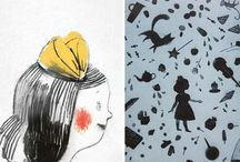 Children's storybook design / Spreads and pages with good composition, personality and pacing