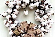 Natural Material Wreaths