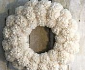 Winter Wreaths / Welcome the cozy colder season with wreaths that warm the soul and puts a smile on guests that visit your home! http://bit.ly/winterwreathideas