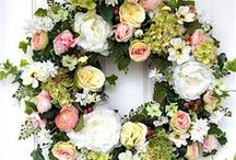 Wedding Wreaths & Flowers / Is there anything more beautiful than gorgeous blooms to celebrate the day? Here's our favorite wedding wreaths and floral ideas.