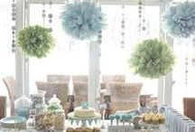 Baby Shower Ideas / Baby shower deco, favors, giveaways, food