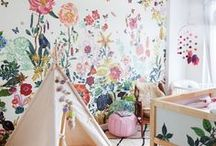 Kids Bedrooms / Fun and creative kid's bedroom ideas, including decorating ideas and organizing tips!