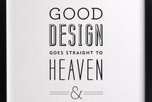 Quotes, Lettering, & Typography / Inspiring quotes, lovely typography layouts and great graphics