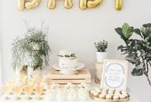 Baby Shower Ideas / Baby shower planning ideas from decorations, to games, treats to prizes!