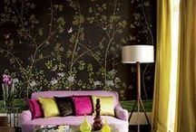 Chinoiserie / A collection of Chinoiserie designs and inspiration